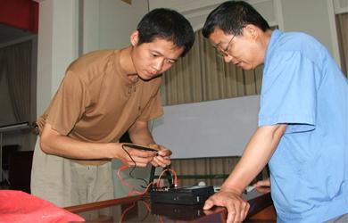 先河公司举办电工工种技能比赛