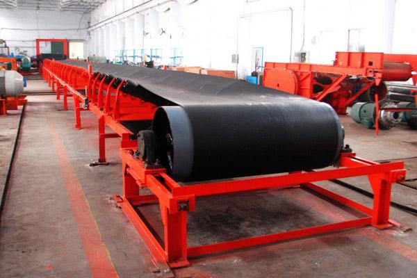DSJ可伸缩钢架带式输送机